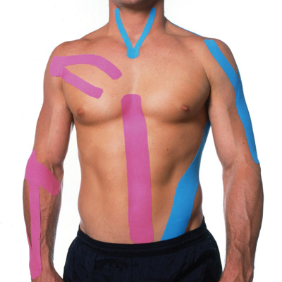 vasta gamma di up-to-date styling sfumature di Kinesio taping, il cerotto colorato che allevia i dolori ...